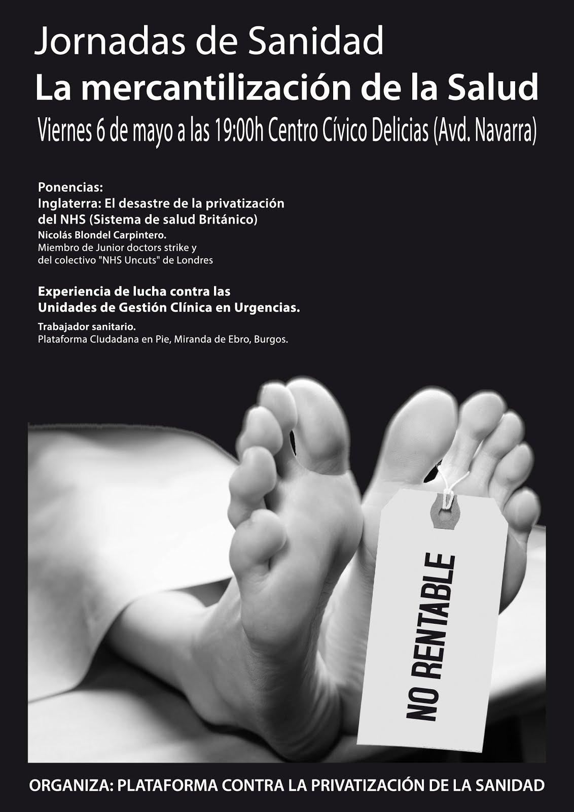 Jornadas sanidad- viernes 6 de mayo