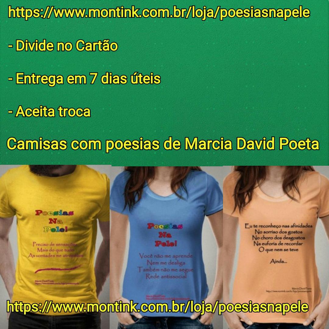 Camisas com Poesias