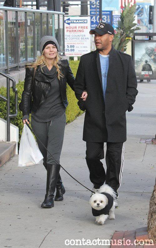 Photo of Jennifer Morrison & her Dog