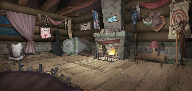 Brilliant Otro conceptual, ahora la parte interior de la cabaña. 1283 x 612 · 136 kB · jpeg