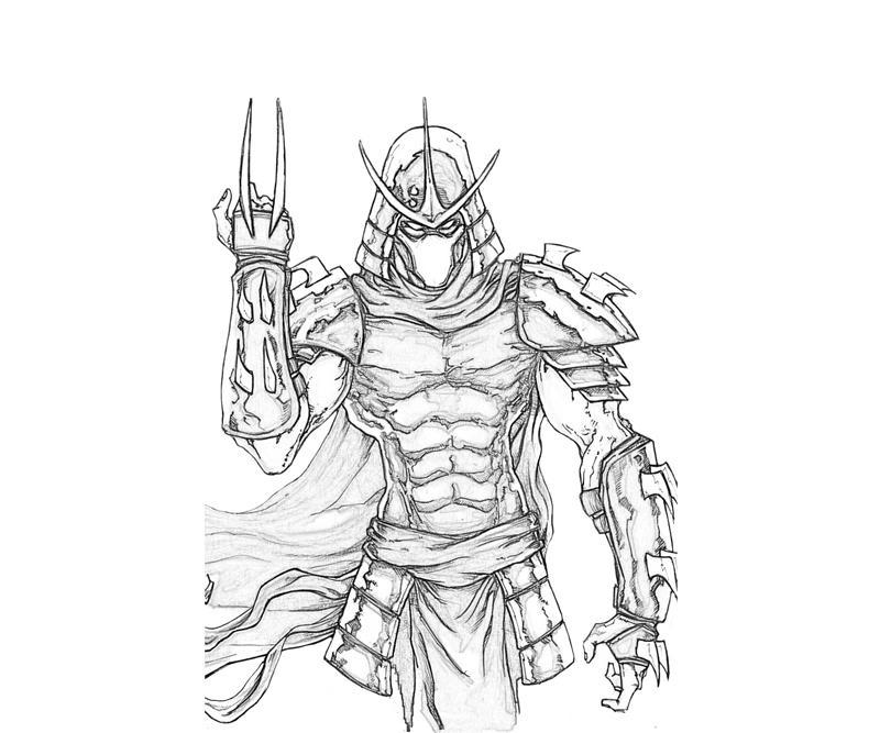 shredder coloring pages - tmnt shredder head coloring pages coloring pages
