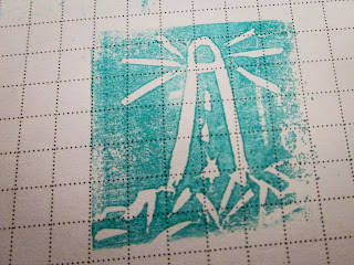 Carve your own stamps using the Undefined Kit from Stampin' Up!  now available here in the UK!