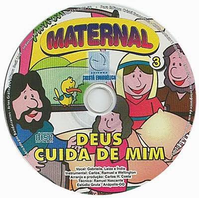 CD Deus cuida de mim
