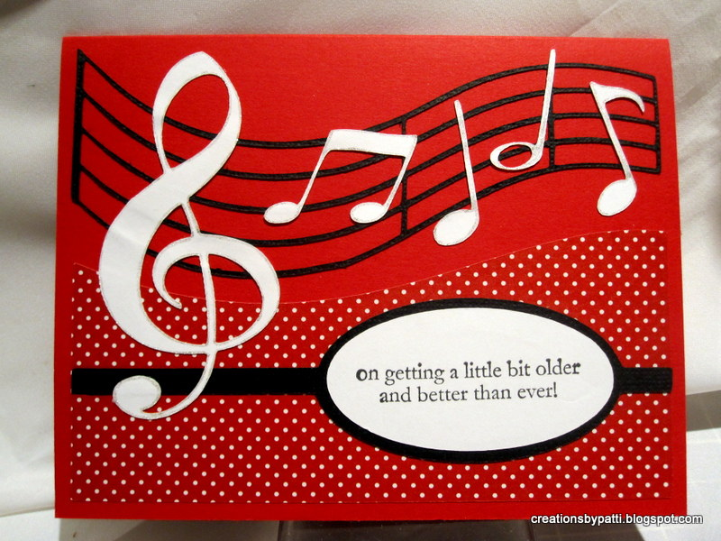 Creations by Patti Musical Birthday Card – Musical Birthday Greetings