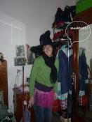 mia zia vestita da carnevale