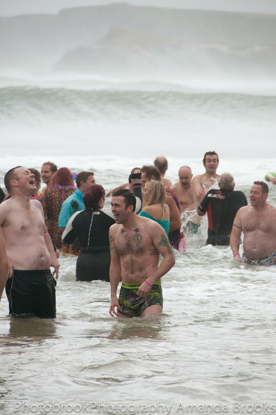 New Years Day Swim Newquay