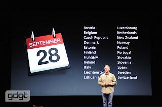 foto del nuovo iPhone 5