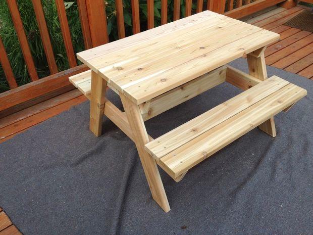Cara Membuat Meja Kursi Untuk Anak Ragam Kerajinan Tangan