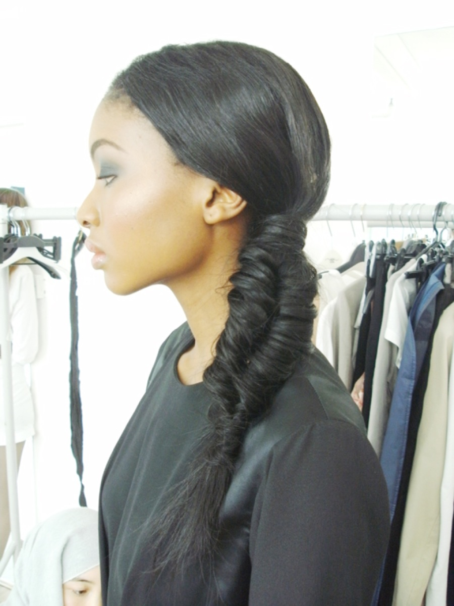 Curvy eco centric recessionista fabulous fishtail braids for Fish tail hair