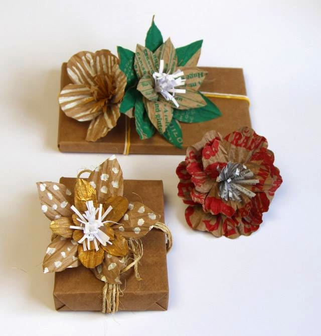 Imagenes de navidad con material reciclable - Dibujos navidenos originales ...