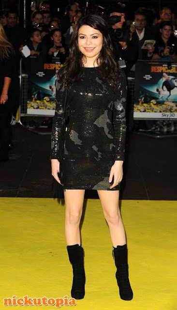 """Red Carpet Dresses: Miranda Cosgrove - """"Despicable Me"""" UK ... Miranda Cosgrove Despicable Me"""