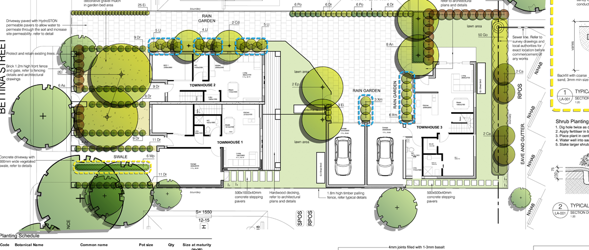 Nadika design sustainable landscape architecture portfolio for Garden design application