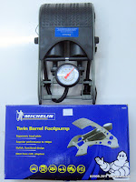 MICHELIN Twin Barrel Footpump