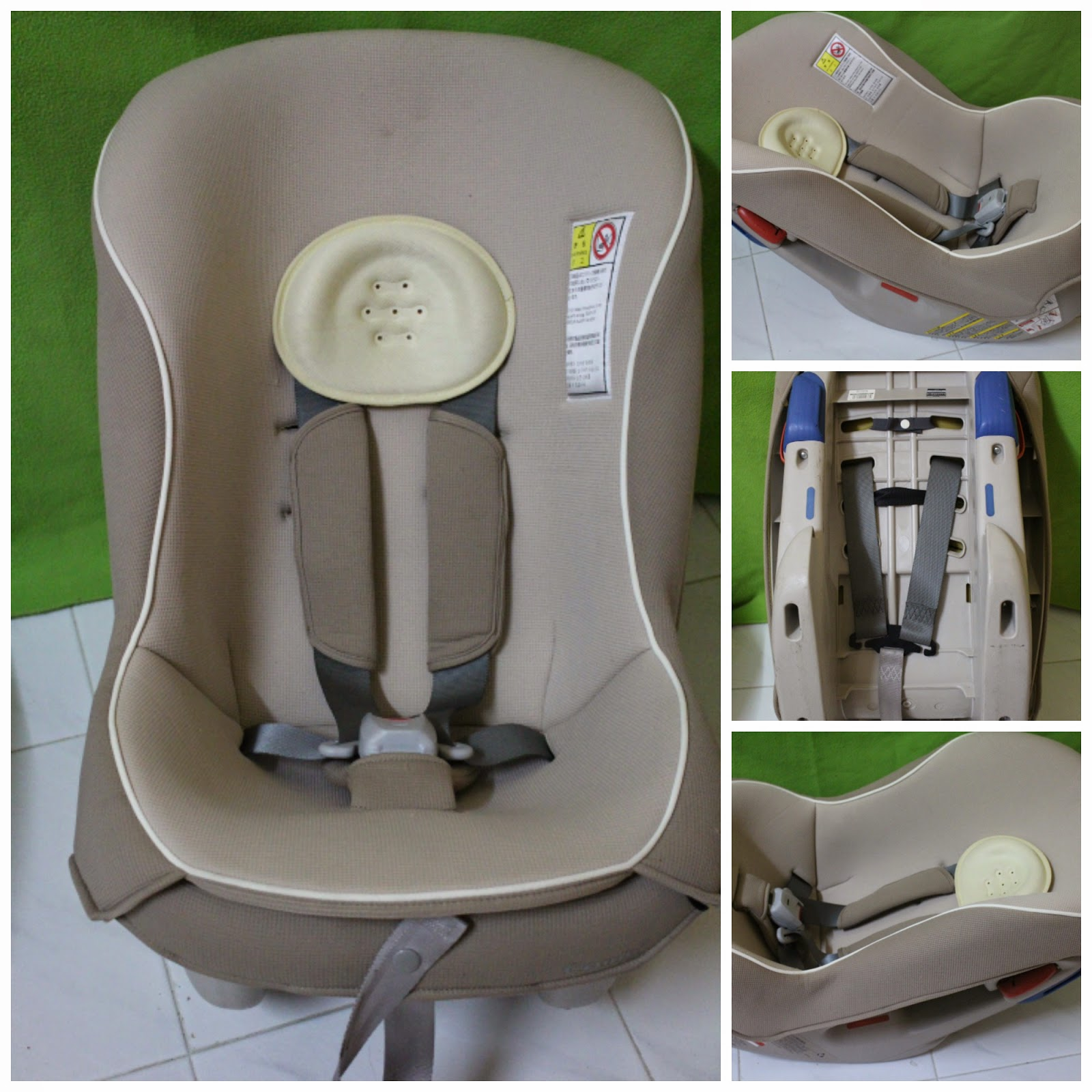Amy Sweety Store: COMBI Coccoro S convertible car seat