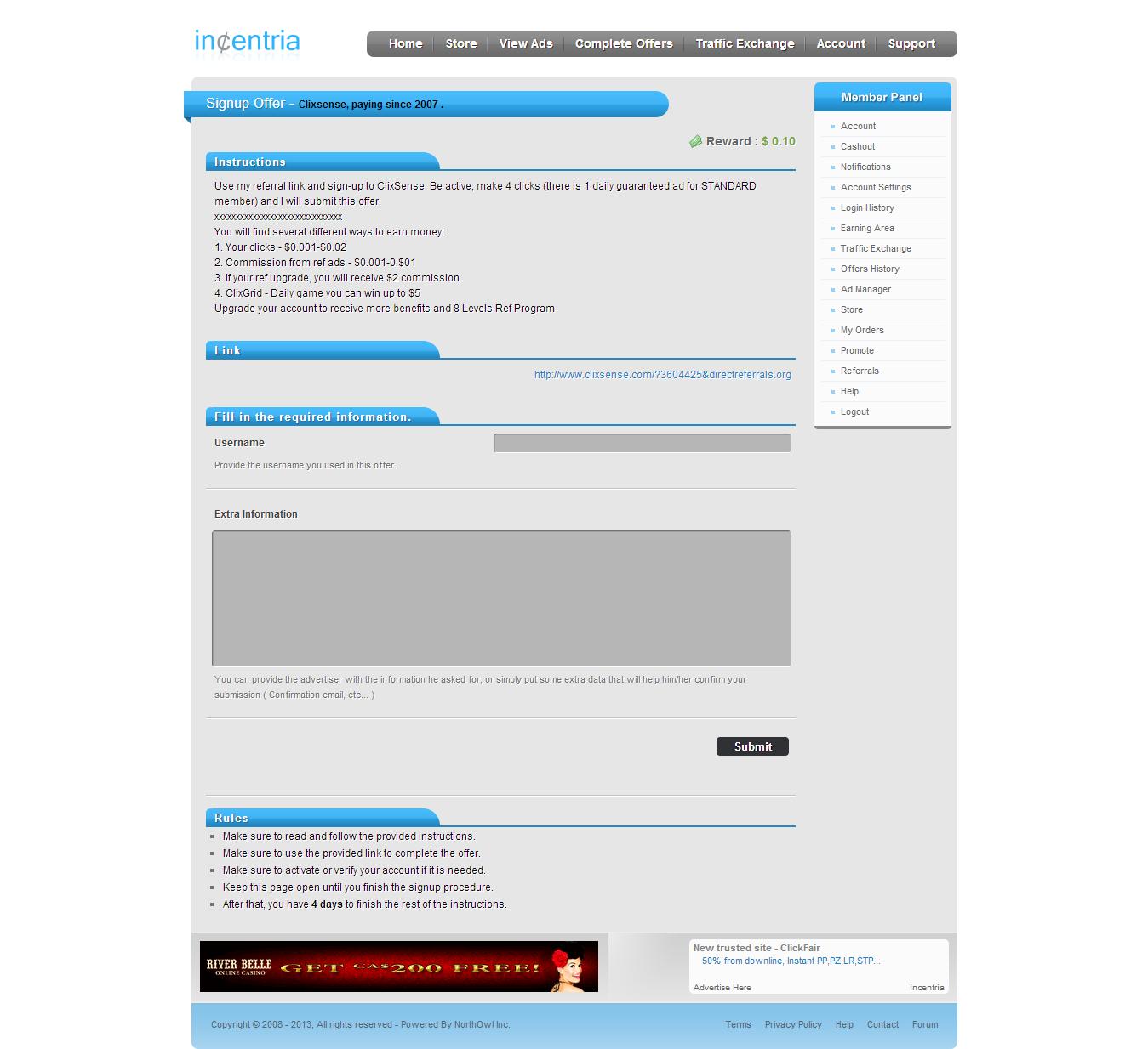 Incentria+++Signup+Offer+++Clixsense++paying+since+2007+. নতুন ফ্রিলেন্সারদের জন্য একটি পোস্ট না দেখলে মিস !