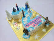 Number Cake - Frozen Theme