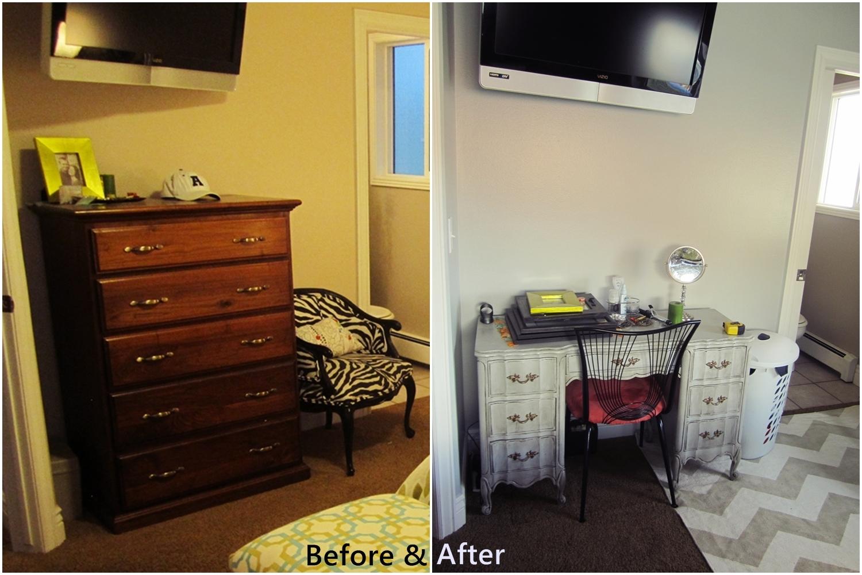 Bedroom furniture arrangements