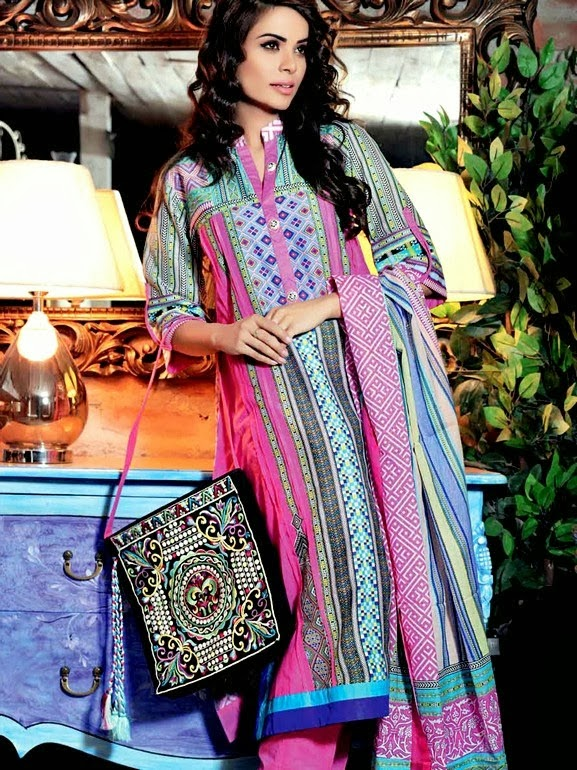 Moroccan Lawn Prints by Gul Ahmed