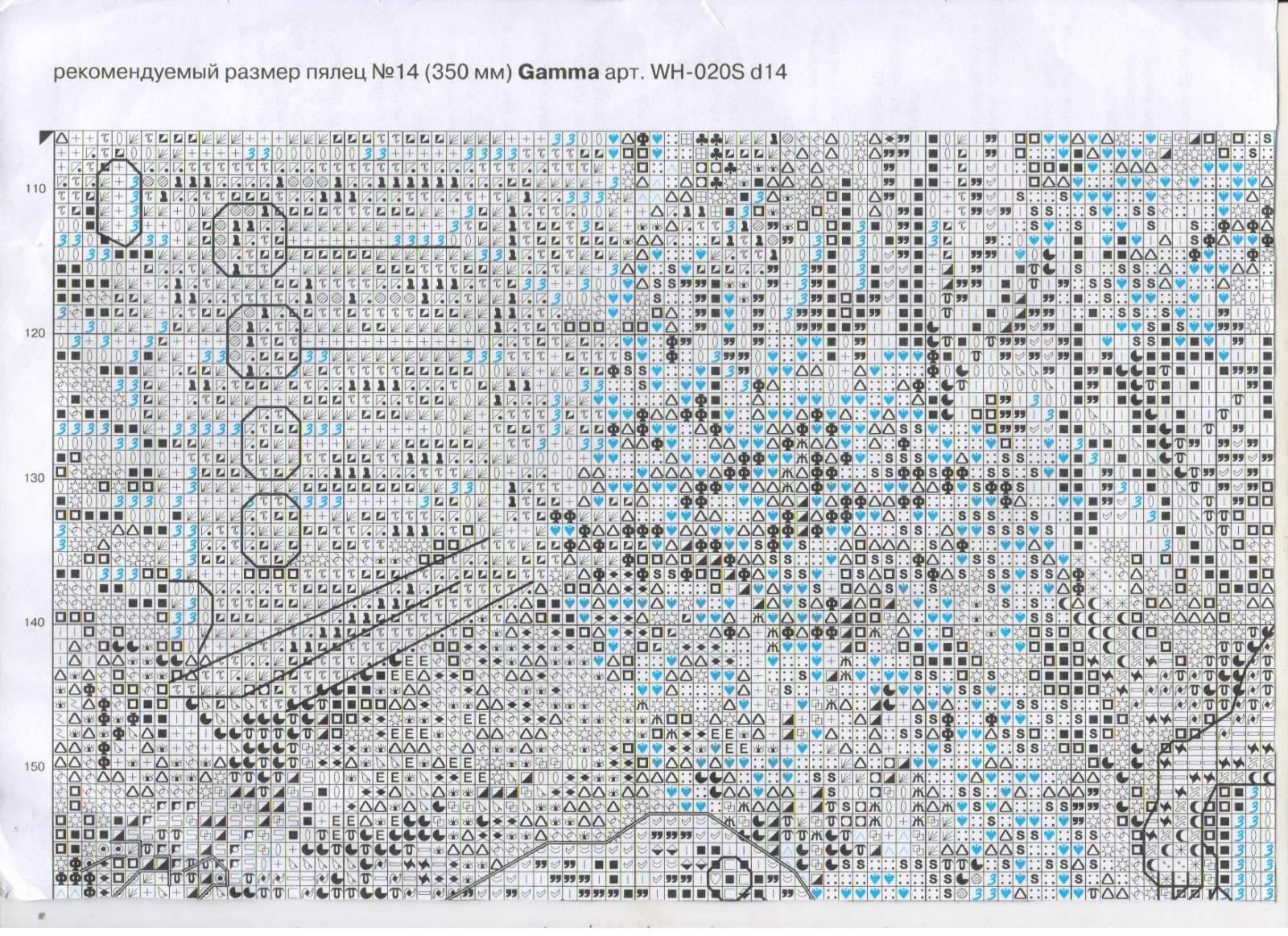 Схема вышивки лукоморье от панна 25