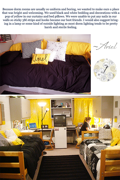 How to Design Your Dorm Room Michaela Noelle Designs