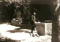 El safareig de Sant Miquel Xic cap al 1955