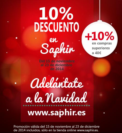 Saphir promocion navidad