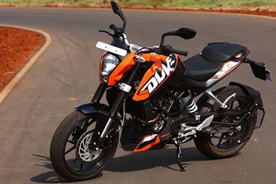 KTM Buke 200 Bikes