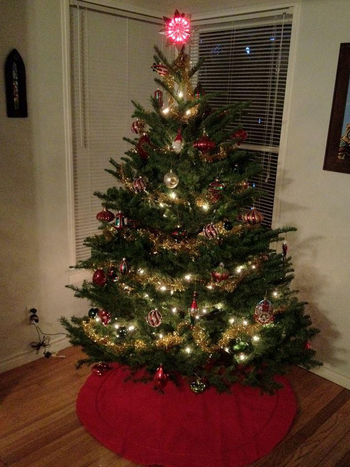 our 2011 mid century christmas tree - Mid Century Christmas Tree
