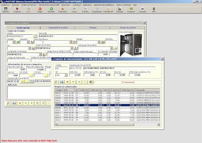 NeXT ERP Convênio ICMS ST IVA NCM UF