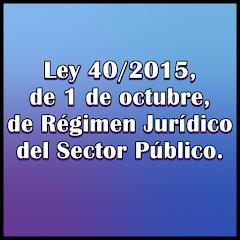 Régimen Jurídico del Sector Público.