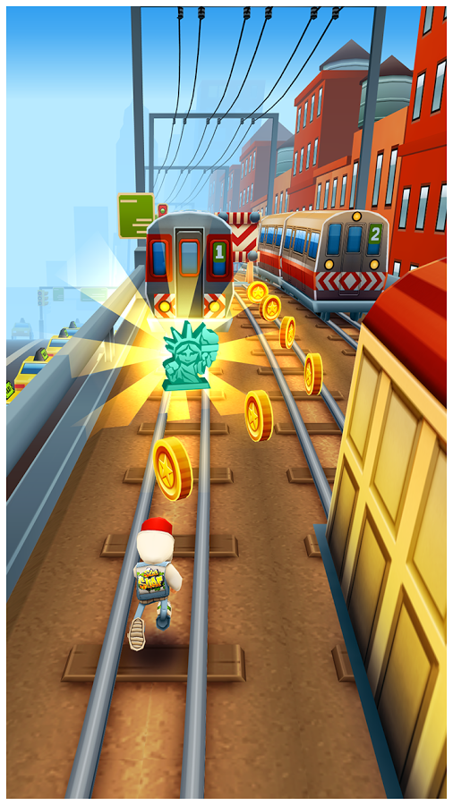 Subway Surfers MOD APK 1.20.0 New York America (Mod Unlimited Coin/Key ...