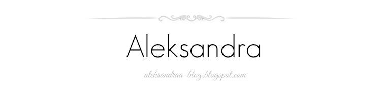 Aleksandra Blog