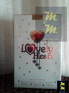 perfume lovely heart 100ml