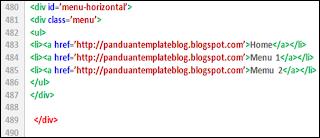 Menu Edit HTML Baru Responsive dan Mudah