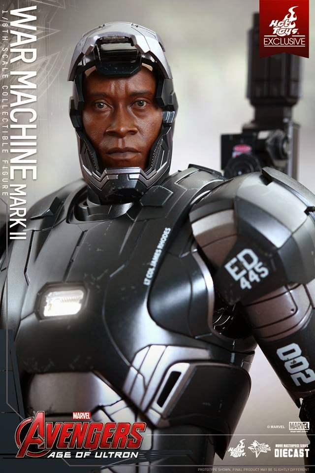 hot toys war machine gundam century