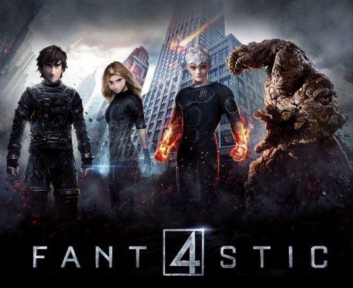 Fantastic 4 (2014) - YT Trailer Wallpaper