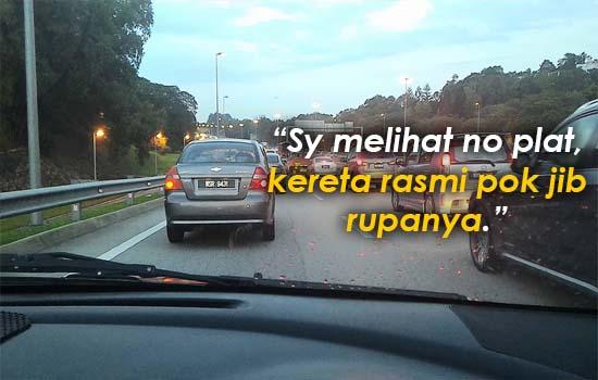 Tindakan Pengguna Jalanraya Apabila Polis Trafik Minta Beri Laluan Untuk VVIP