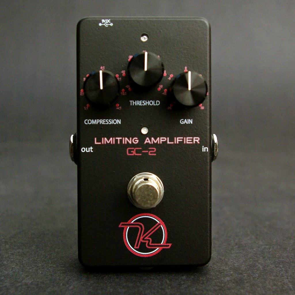 Keeley Electronics GC-2 Compressor Limiting Amplifier Effect Pedal