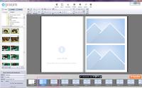 Pixum Fotobuch Software Seite auswählen
