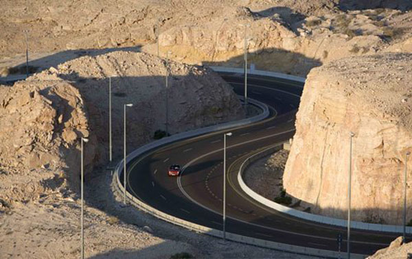The Jebel Hafeet Mountain Road