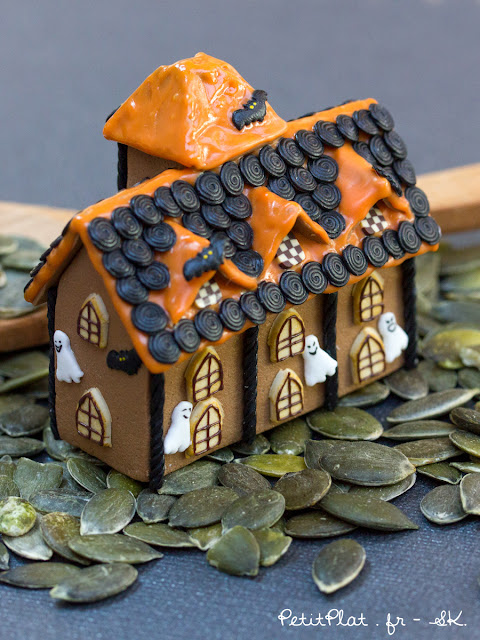 Miniature Haunted Gingerbread House, Stephanie K. PetitPlat