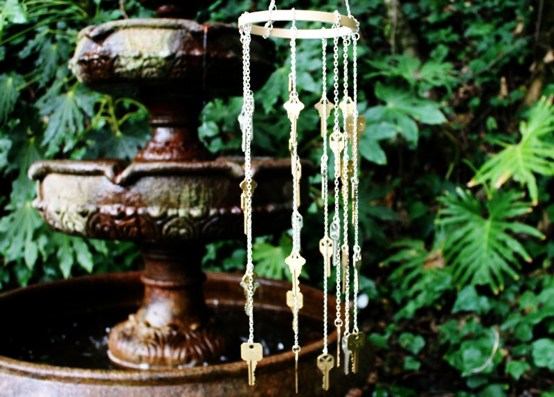 homemade wind chimes instructions