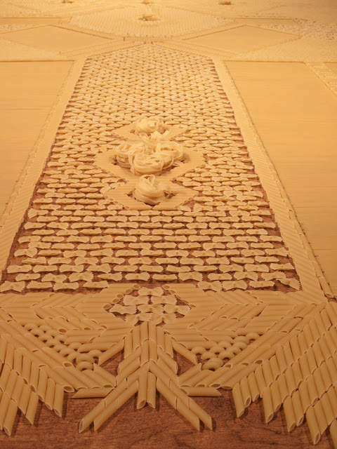pasta, contemporary temporary carpets