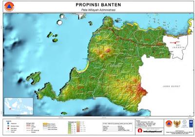 Nama Kabupaten/ Kota di Provinsi Banten