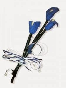 Ramos de Novia Color Azul, parte 2