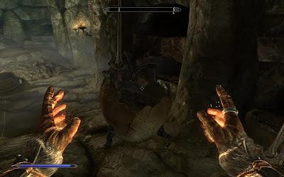 глюк брони из игры Скайрим Skyrim