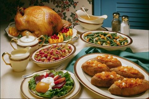 Bon Lundi Thanksgiving+dinner