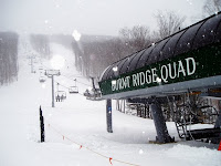 Snowmaking and lifts are a ski area's largest consumers of energy.  Gore and Whiteface, where $1 out of every $6 in revenue is spent on energy costs, are representative of the ski industry.  The Saratoga Skier and Hiker, first-hand accounts of adventures in the Adirondacks and beyond, and Gore Mountain ski blog.