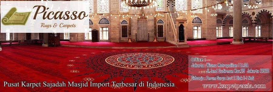 Pusat Karpet Turki Sajadah Masjid Terlengkap