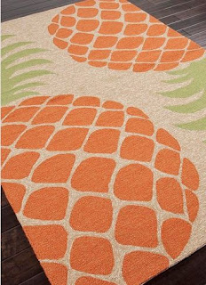 pineapple rugs